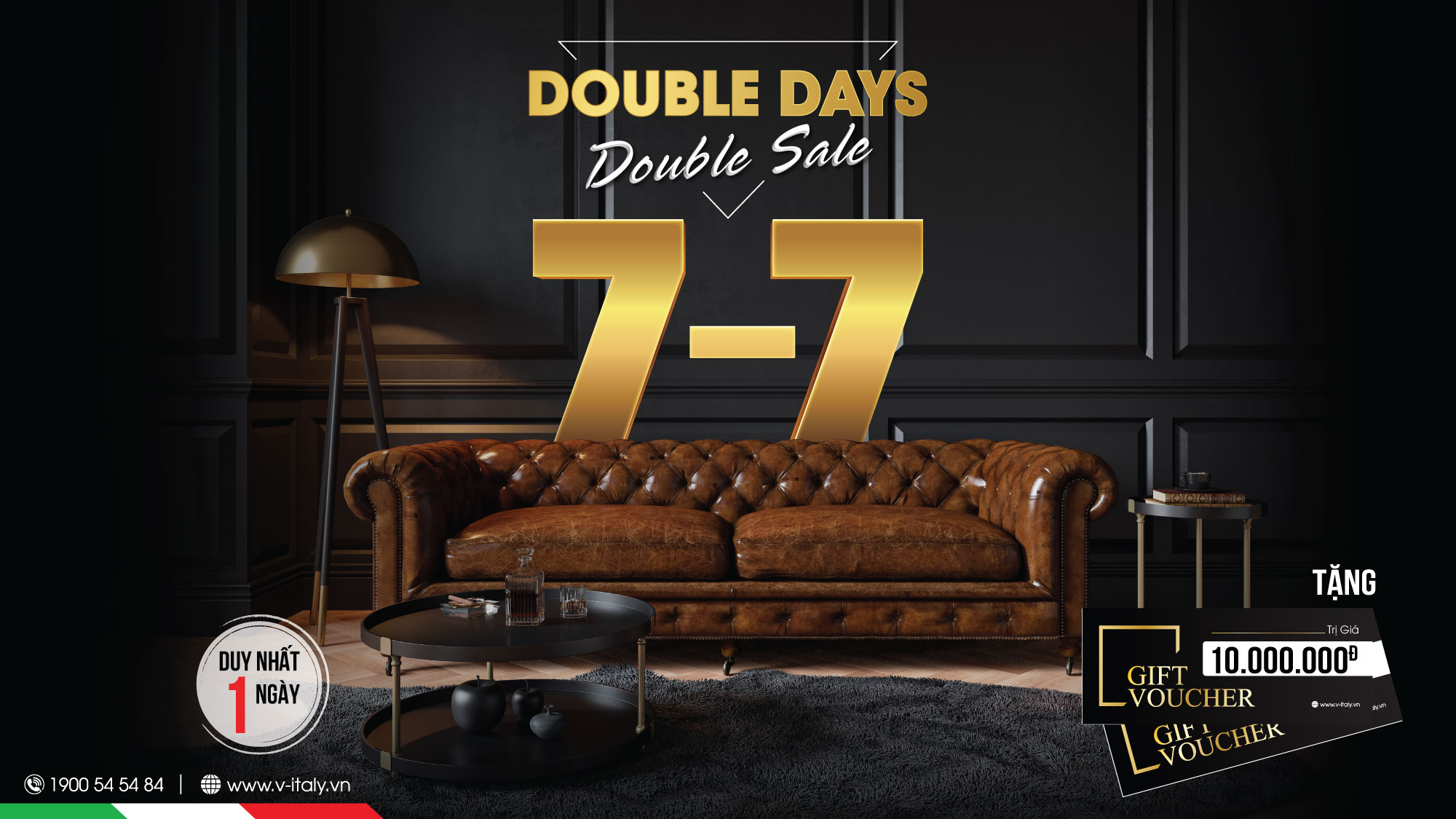 DOUBLE DAYS - DOUBLE SALE